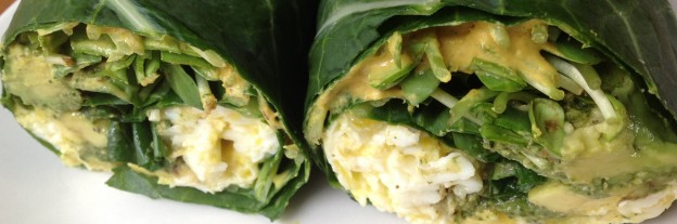Green Breakfast Wraps
