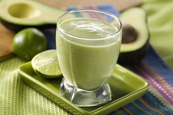 Сок из авокадо рецепт