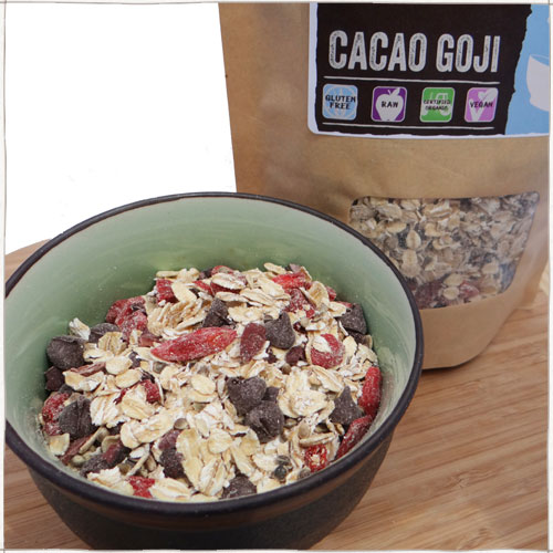 cacao goji cereal