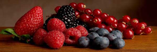 Berries with high ORAC value