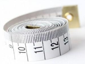 White measuring tape