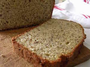 slice of almond bread