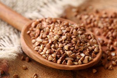 Organic buckwheat hearts