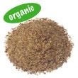 Raw, certified organic, sprouted.  Excellent source of fiber, antioxidants, and omega-3 fatty acids.