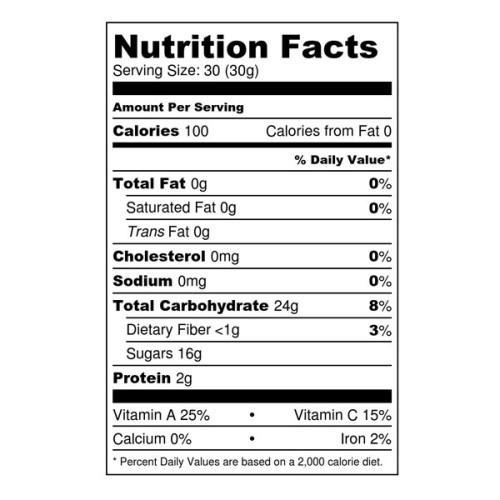 Dried Tart / Sour Cherries (Raw, Organic)