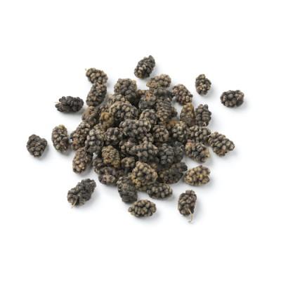 organic dried black mulberries