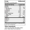 Organic Pea Protein Isolate